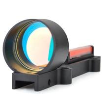 SEIGNEER Tactical fiber red circle dot sight rifle scpoe Red Fiber Optics 1x 28 Collimator Dot Holographic Sight Target Range