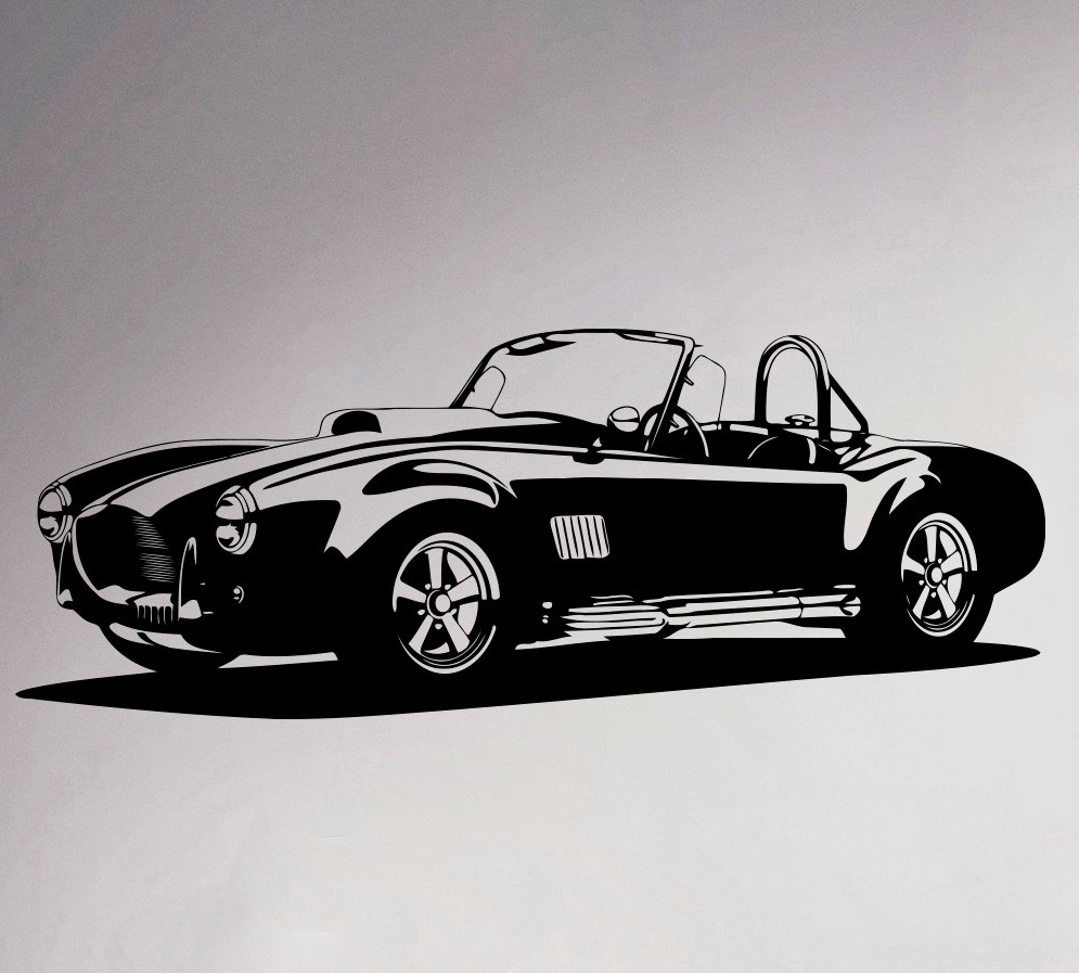 Online get cheap vintage car decals aliexpresscom for Cheap vehicle lettering