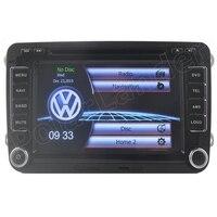 Windows CE 6.0 Core 2 din 7 дюймов Автомобиля Радио dvd плеер GPS 3 Г Wi Fi RDS Для VW/Volkswagen/Passat/POLO/GOLF/Skoda/Seat Leon