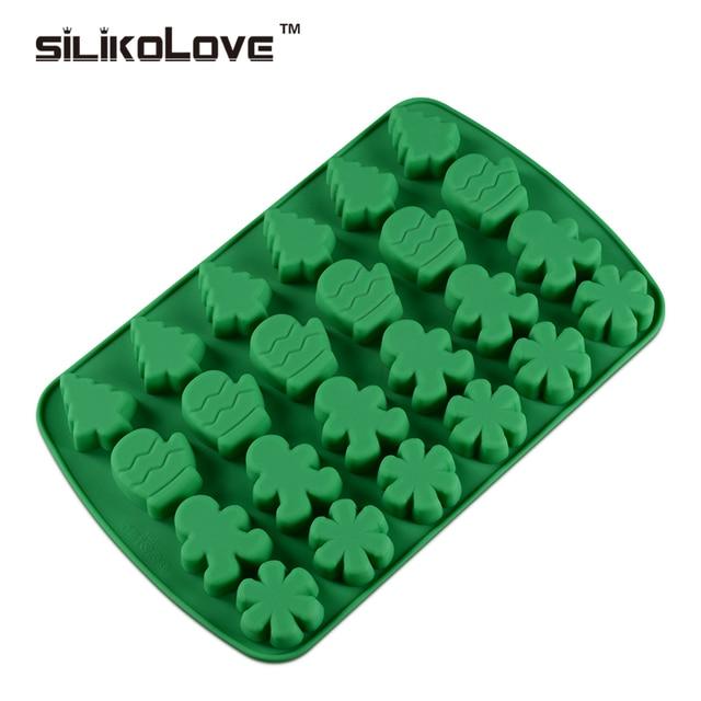 silikolove silicone cuisson moules 24 cavité bricolage de noël