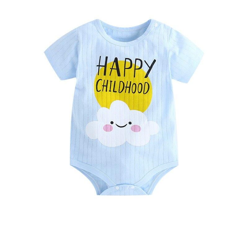 HTB15FDLatzvK1RkSnfoq6zMwVXas New Summer Baby Boys Romper Animal style Short Sleeve infant rompers Jumpsuit cotton Baby Rompers Newborn Clothes Kids clothing