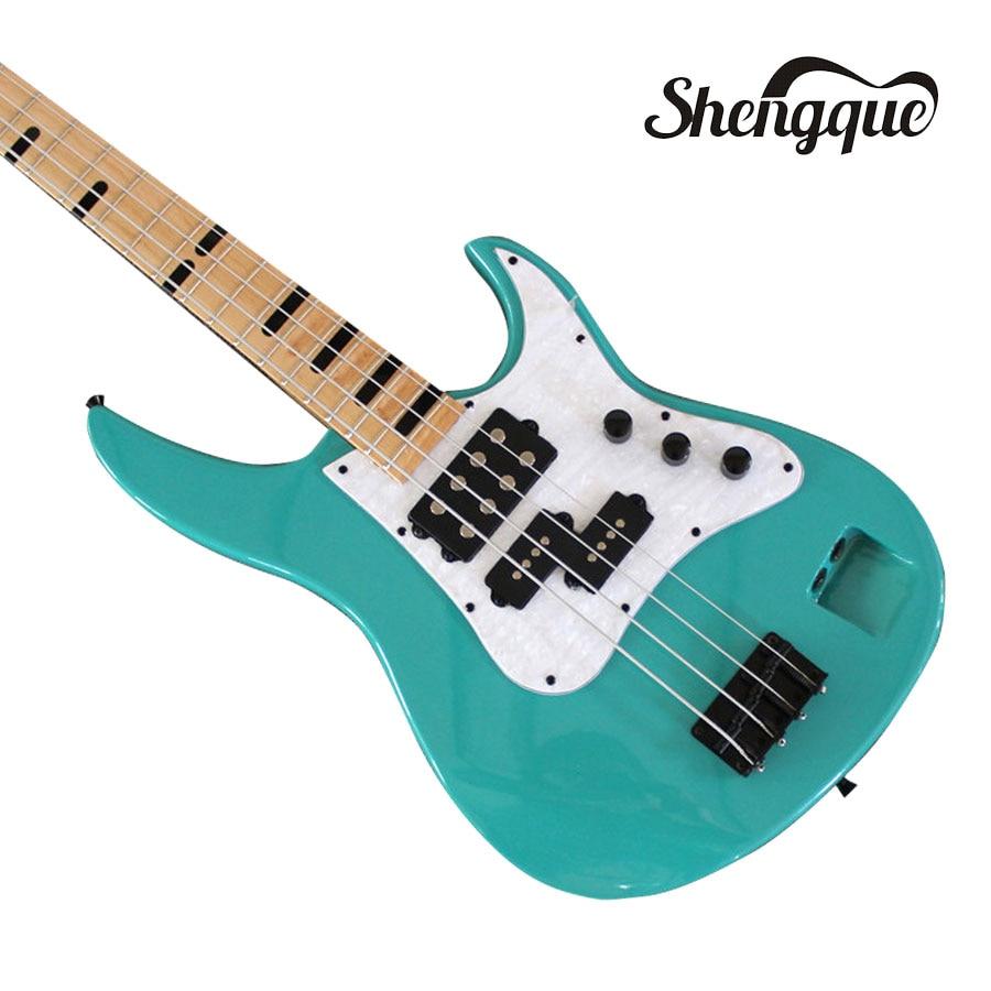 buy shengque 2018 top quality custom 4 strings bass guitar electric guitars. Black Bedroom Furniture Sets. Home Design Ideas