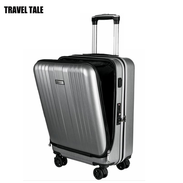 """TRAVEL TALE 20""""inch men and women travel suitcase for laptop TSA LOCK carry on hand luggage on wheel 1"""