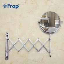 Frap – miroir de maquillage mural, miroir de vanité professionnel, comptoir réglable, loupe rotative à 180 ° F6406 F6408