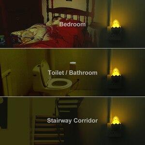 Image 5 - Màu Vàng dễ thương Vịt LED Đèn Ngủ Cảm Biến Ánh Sáng Điều Khiển Mờ Đèn Điều Khiển từ xa EU Cắm 220V cho Nhà Phòng Ngủ Trẻ Em trẻ em Quà Tặng