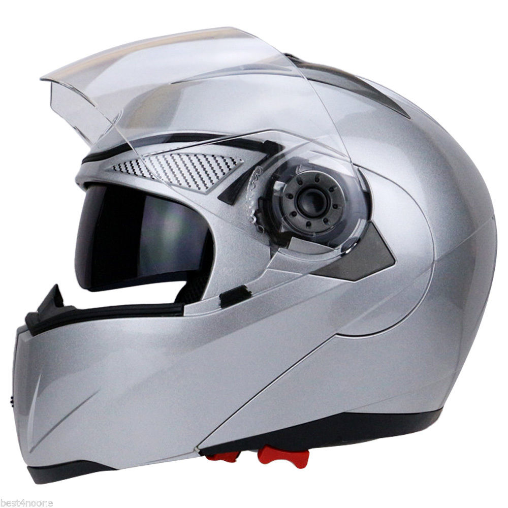 3bef109e Free shipping 1pcs Unisex Full Face Motorcycle Helmet Dual Visor Street Bike  + Transparent Shield-in Helmets from Automobiles & Motorcycles on ...