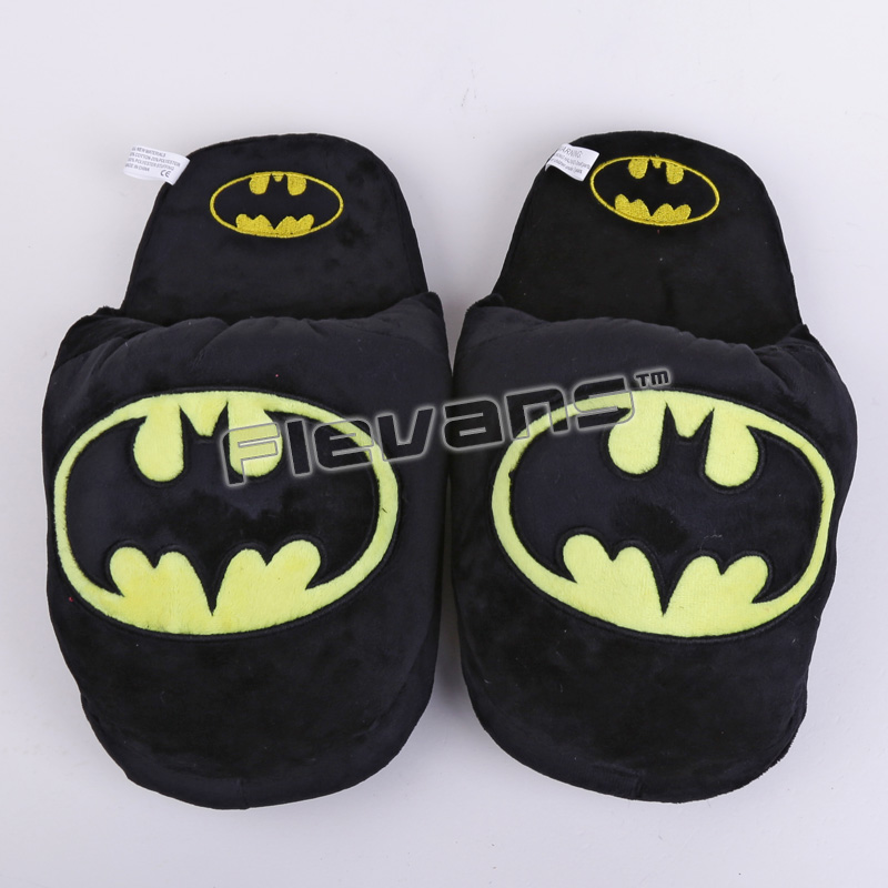 Superhero Batman Superman Deadpool Spiderman Plush Shoes -2852