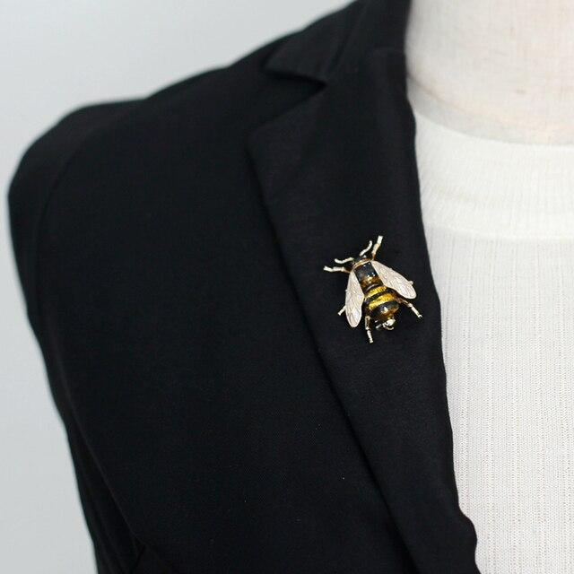 Фото женская/детская брошь в виде животного насекомое с эмалевым цена
