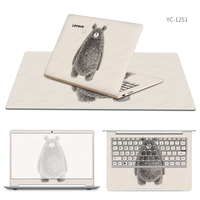 Laptop Stickers with Same Style Mouse Pad Skin for Lenovo ideapad 310s/710s/510/310/110/300/110s/510s/miix 510/700/720s Cases