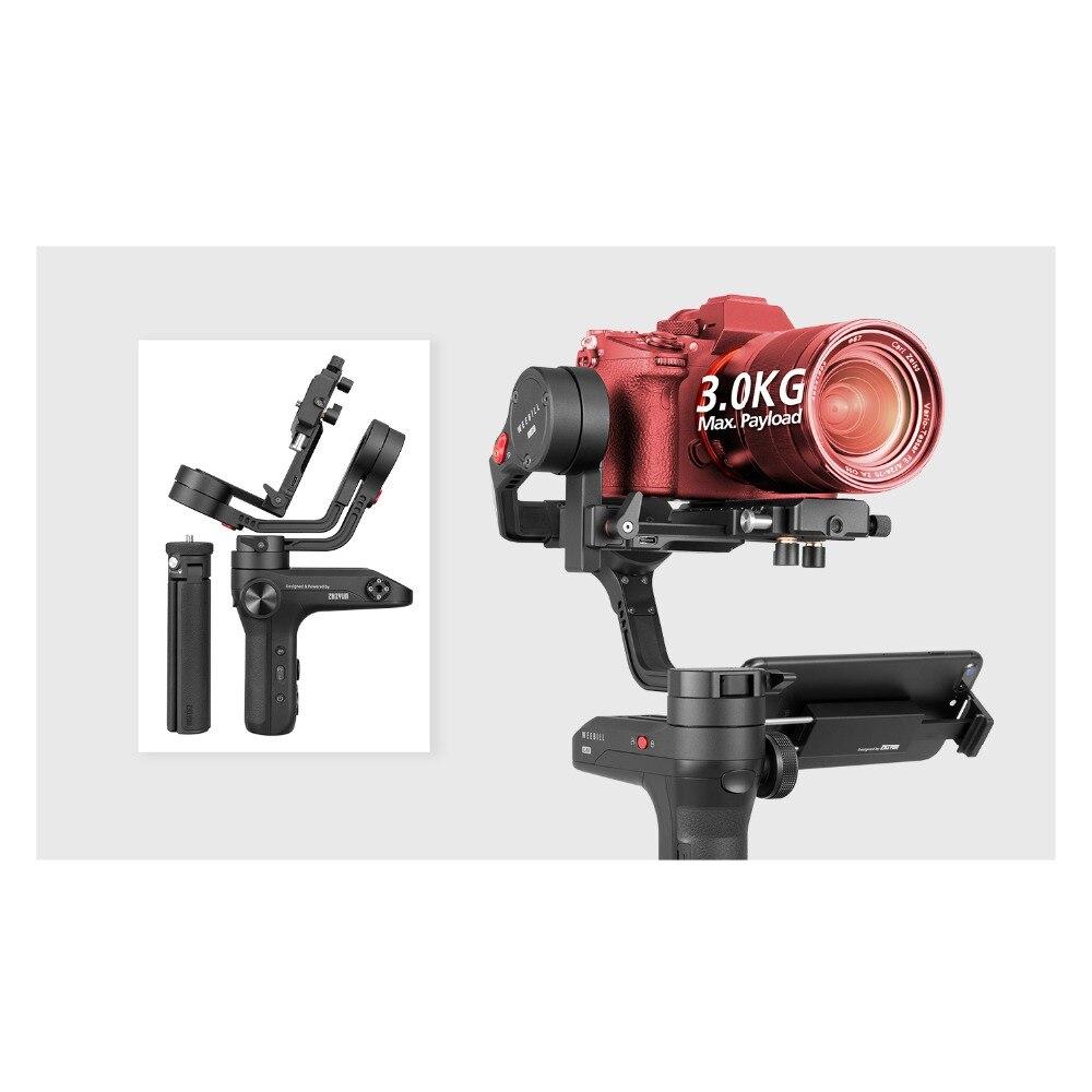 Zhiyun Weebill LABORATOIRE 3-Axe Sans Fil Image Image Transmission stabilisateur de caméra pour appareil photo compact OLED Affichage De Poche Cardan - 4