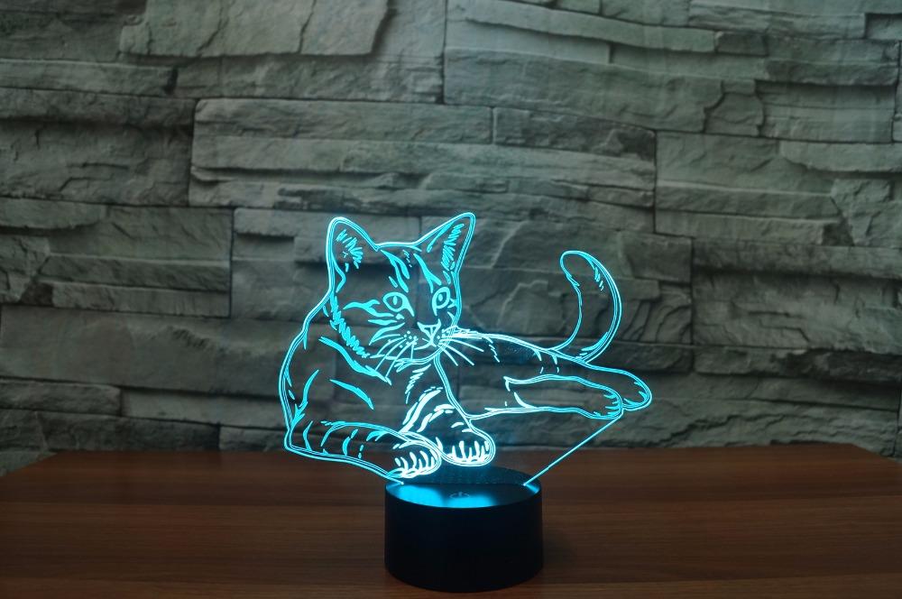 3D Acrylic Led Nightlight Lamp