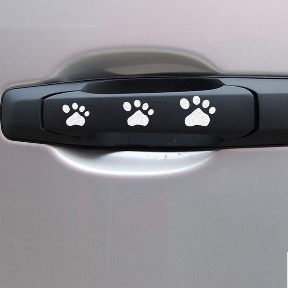 CARPRIE Hot selling Vinyl DOG PAW Car Accessories Car Styling Car Sticker Stickers And Decals Animals Dropshipping Mar22