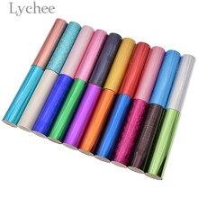Многоцветная фольга горячего тиснения бумага Лазерная Фольга бумага DIY ремесла материал для одежды коробка карты