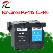 For Canon PG 445 CL 446 Compatible PG445 445XL pg445 PG-445 CL-446  ink cartridge for Canon PIXMA MG 2440 2540 2940 MX494 IP2840 цена 2017