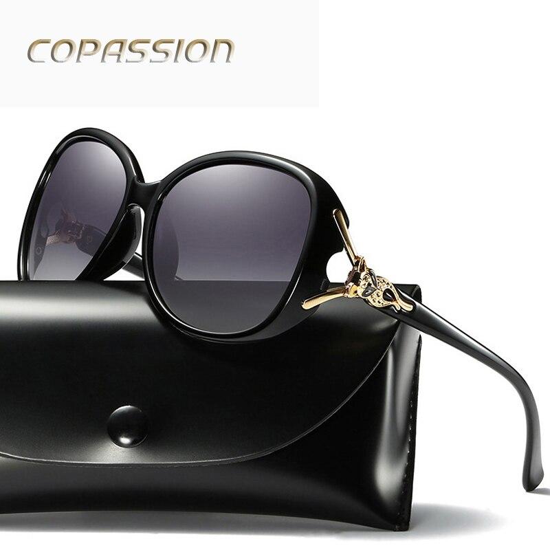 Бренд Дизайн поляризационные Солнцезащитные очки для женщин Для женщин асимптотические Ц ...