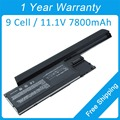 New 7800mah laptop battery for dell Precision M2300 0JD605 0JD606 0PC764 0JD648 0RC126 KD494 KD489 KD491 312-0653 310-9080