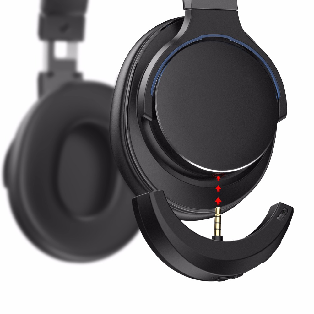 Wireless Portable Bluetooth speaker Adapter for Audio Technica MSR7 Headphones MC21