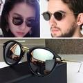 Hot New 2017 Oculos de sol Feminino óculos de Sol Das Mulheres Designer De Marca NOVA IORQUE BiNFUL Óculos Da Moda Óculos de Marca Óculos De Sol Dos Homens Do Vintage