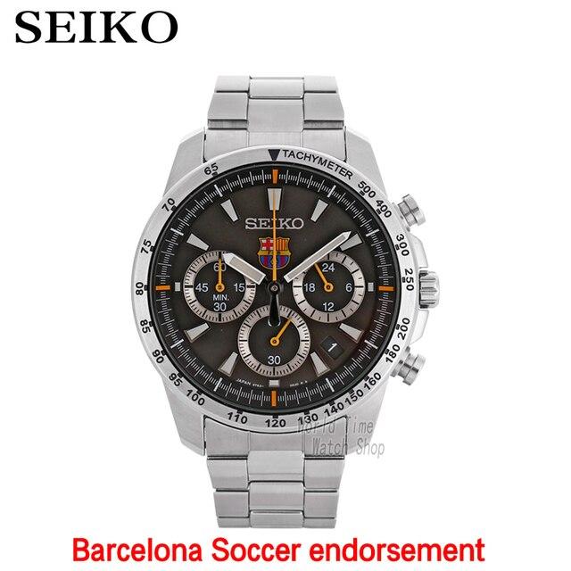 Reloj SEIKO Edición Limitada SNAE75P1 SSB073J1 Sportura FC Barcelona  taquímetro cristal de zafiro cronógrafo de cuarzo 51d16e1cba2
