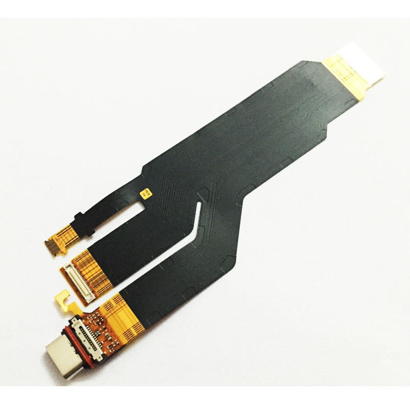 10 Pcs /Lot, For Sony Xperia XZ USB Charging Port Dock Charger Conector Flex Cable Mic Mircophone Board Replacement Part