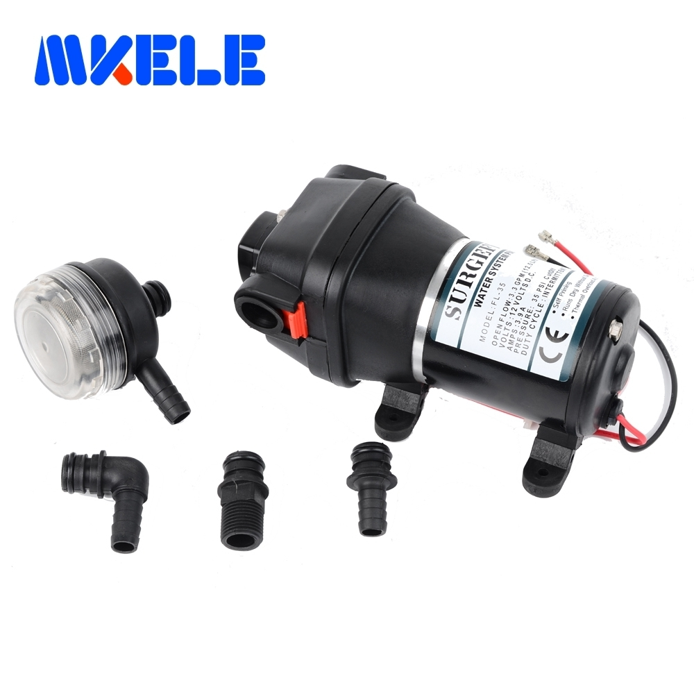 FL-34 FL-35 Miniature water pump 24v/12v dc 120W Low Pressure Electric Diaphragm Pump 20m lift Submersible pumps fl 40 fl 44 12v 24v dc mini submersible low electric diaphragm pump 25m lift high pressure water pumps self priming