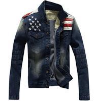 2016 New USA Design Mens Jeans Jackets Fashion Casual Coat Men S Jeans Clothing Denim Jacket