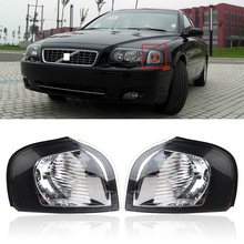 CAPQX 1pcs For Volvo S80 1999-2006 Front Side Fender Light Corner turn light headlight Marker Turn light Signal lamp