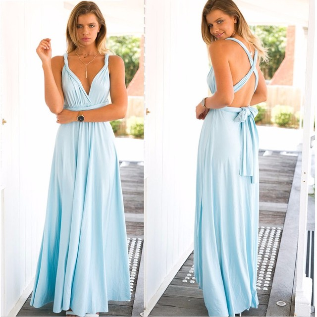 Sexy Maxi Dresses for Summer