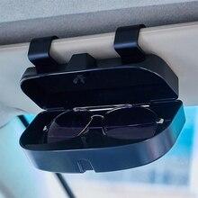 Автомобильный козырек подвесная футляр для очков автомобиля футляр для солнцезащитных очков для Mazda 2 3 5 6 CX-30 MX-5 Verisa 323 RX-8 RX-7 626 Tribute