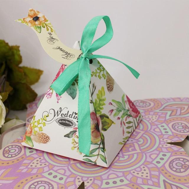 Amazing 100pcs Secret Garden Candy Box Favor Gift Box Baby Shower Favor Boxes And  Bags Wedding Souvenirs