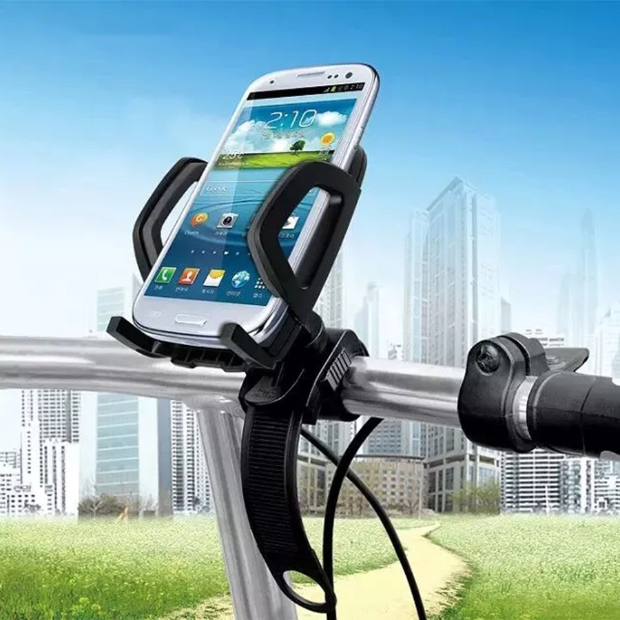 Bike Bicycle Phone Holder Mount Stand Outside Sport Riding