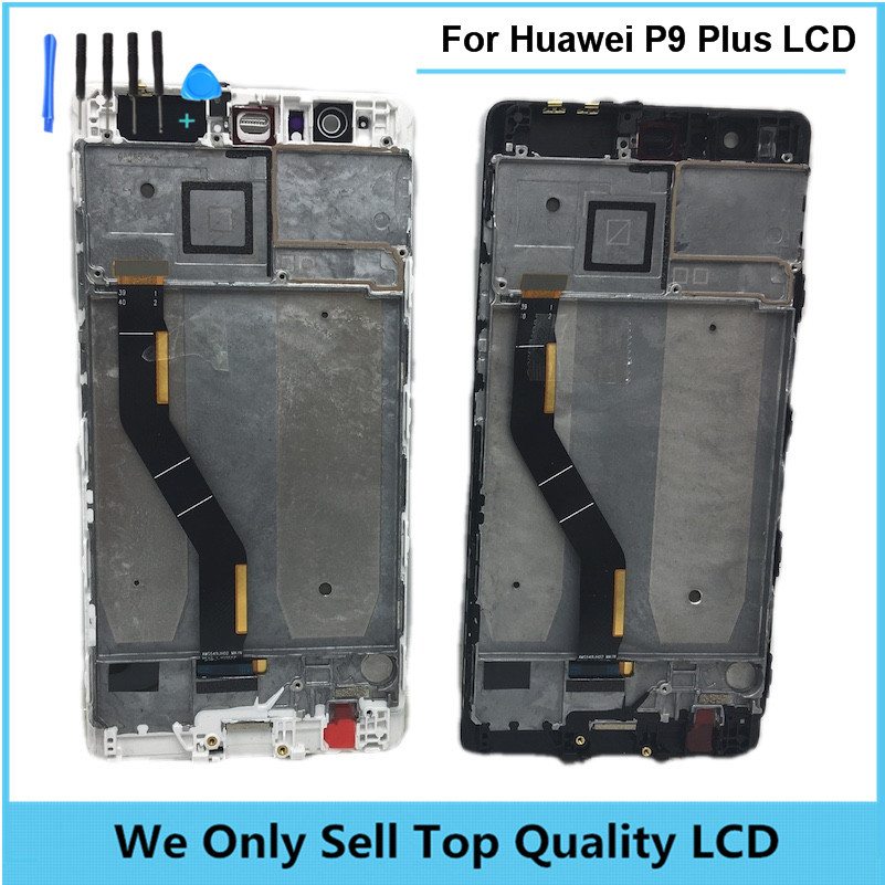 Replacement LCD for HUAWEI P9 Plus Display Screen with Touch Screen Digitizer with Frame Assembly Free Shipping + 8 In 1 Tools replacement lcd for huawei p9 plus display screen with touch screen digitizer with frame assembly wholesale 10pcs lot free dhl