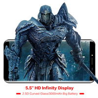 Original OUKITEL C8 5 5 18 9 Infinity Dispaly 3G Mobile Phone Android 7 0 Quad