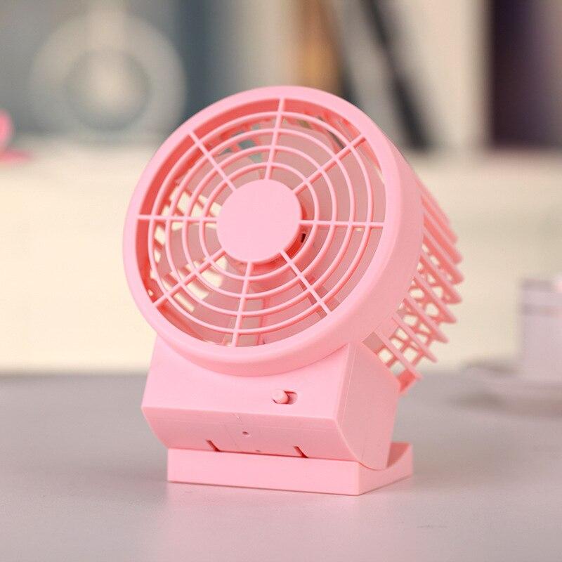 5 Inches Mini Fan USB Fan Portatile Creativo Doppio-vane Mini Desk Ventilatore Home Office Elettrico Del Ventilatore Desktop
