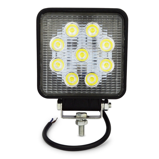 Perfect 4inch 27w Led Work Light Flood Spot Far Light Led Work Lamp For Tractor  Boat Off