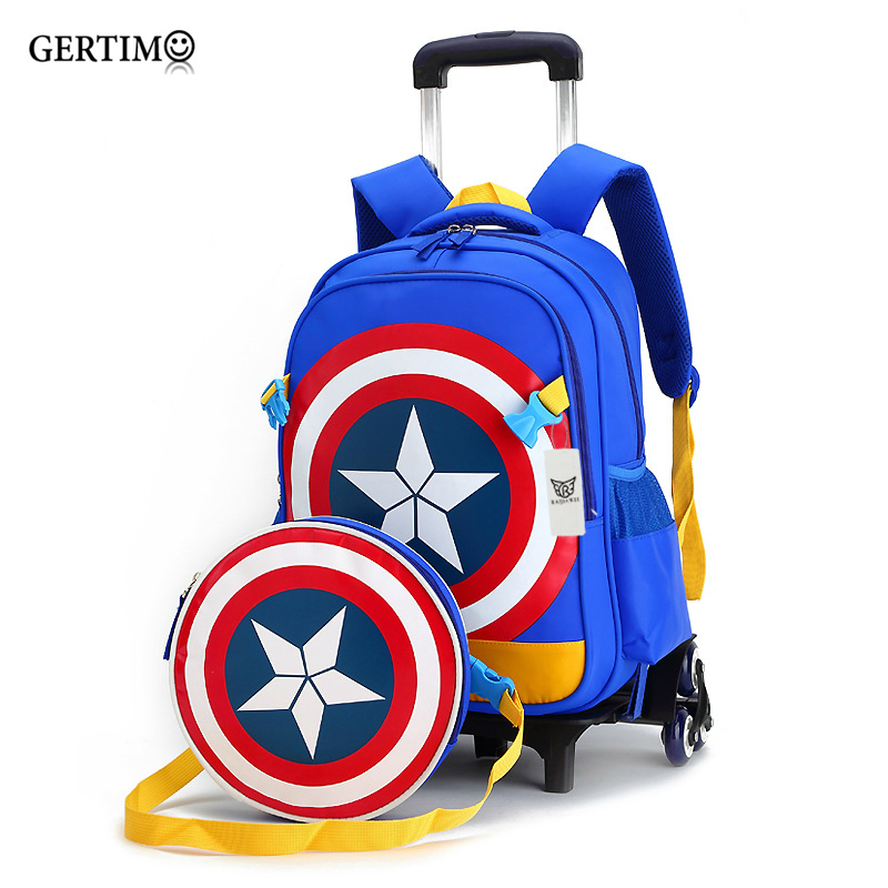 Rolling school backpacks girls and boys trolley bags school bag wheels backpack schoolbag teenage girl bookbag mochila bolsosRolling school backpacks girls and boys trolley bags school bag wheels backpack schoolbag teenage girl bookbag mochila bolsos