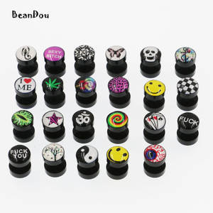 BeanDou 1 pair studs earrings for girls piercing jewelrys