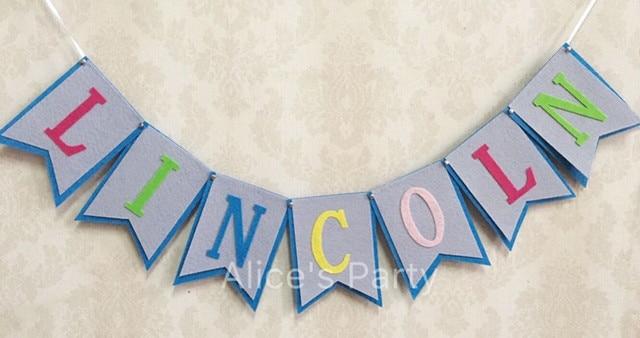 Aliexpress.com : Buy Personalized baby shower banner Nursery Decor ...