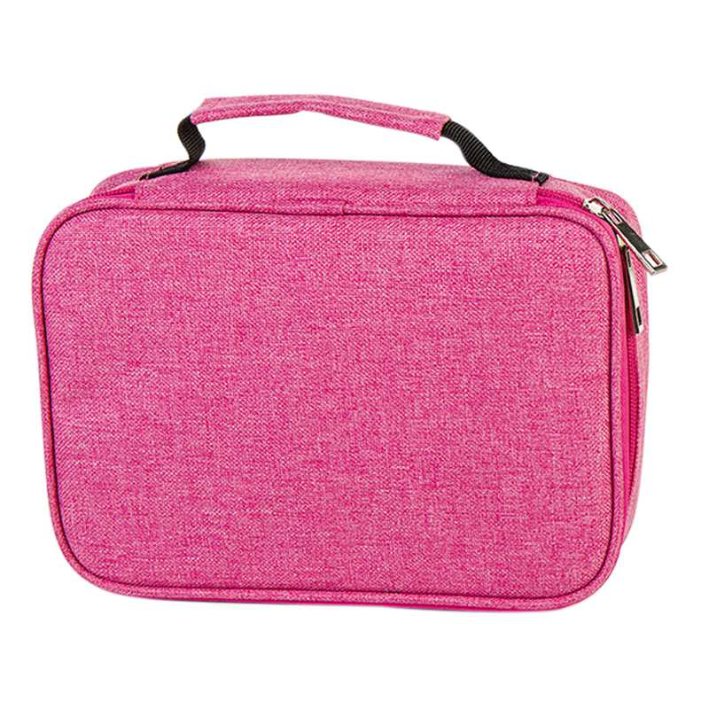 School Pencil Cases For Girls Boy Pencilcase 72 Holes Pen Box Penalty Multifunction Storage Bag Case Pouch Stationery Kit     #8