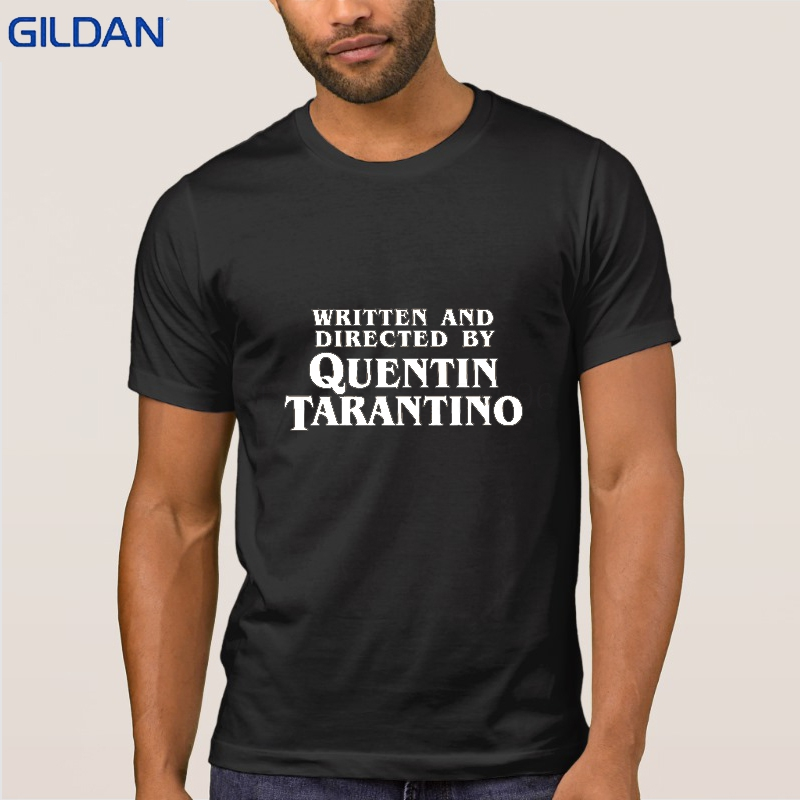 men-tee-shirt-cotton-o-neck-short-sleeve-written-and-directed-by-quentin-font-b-tarantino-b-font-funny-tee-shirt-men-male