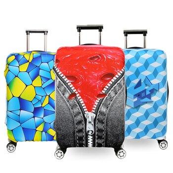 ff8f0cb8f Equipaje de viaje maleta protectora cubierta del equipaje de viaje caso  accesorios elástico caso Trolley equipaje cubierta de polvo QEHIIE