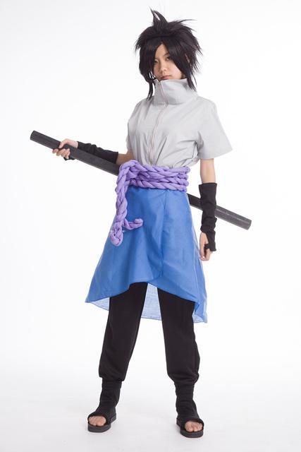 Naruto Shippuuden Uchiha Sasuke Costume