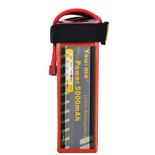 You&me New RC Helicopter Battery 18.5V 5000mAh 50C 5S Lithium Polymer batteria AKKU DJI Drone