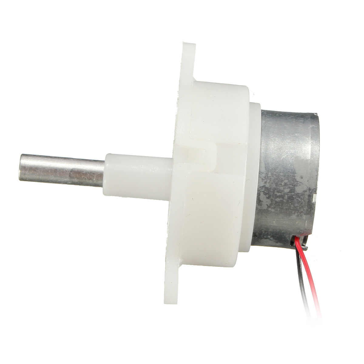 Brand 2pcs dc 5v 6v 9v 12v worm gear motor long shaft gear for Low speed dc motor 0 5 6 volt