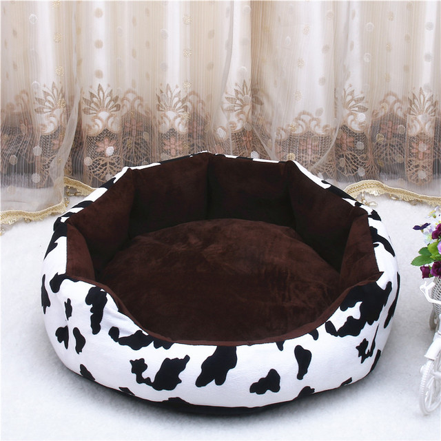 Cheap 3 Sizes Winter Fleece Pet Dog Bed Mat Pad for Labradors Small Large Dog Warming House Soft Warm Nest Kennel for Cat Puppy