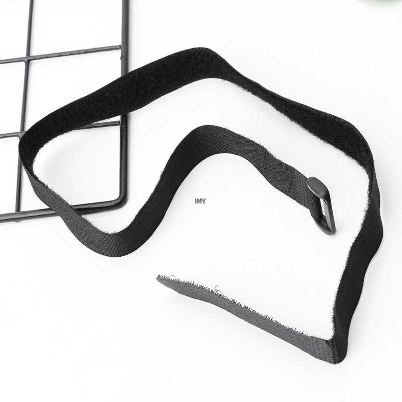 أسود حبل نايلون حزام البضائع حامل الأمتعة السحابة الأشرطة مع ذاتية اللصق ملصق للدراجات النارية سيارة في الهواء الطلق التخييم BagsINY