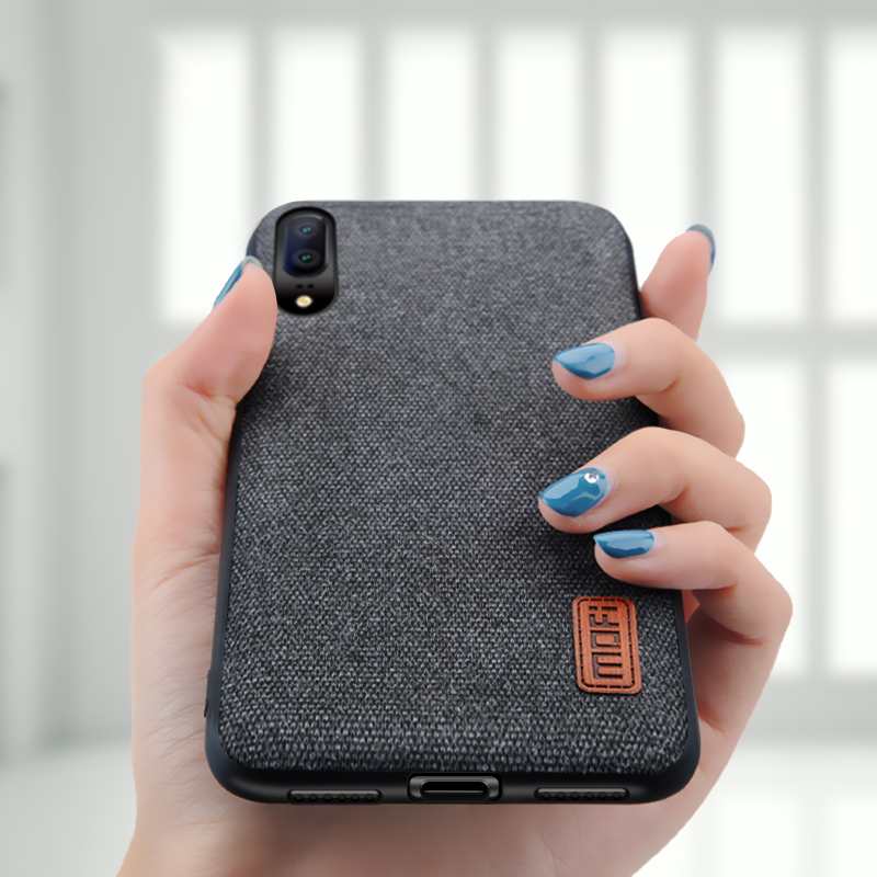 check out 5a171 23bcb US $8.69 13% OFF|for Huawei P20 case cover P20 Pro back cover silicone edge  fabric protect case coque MOFi original for huawei P20 Lite case-in Fitted  ...