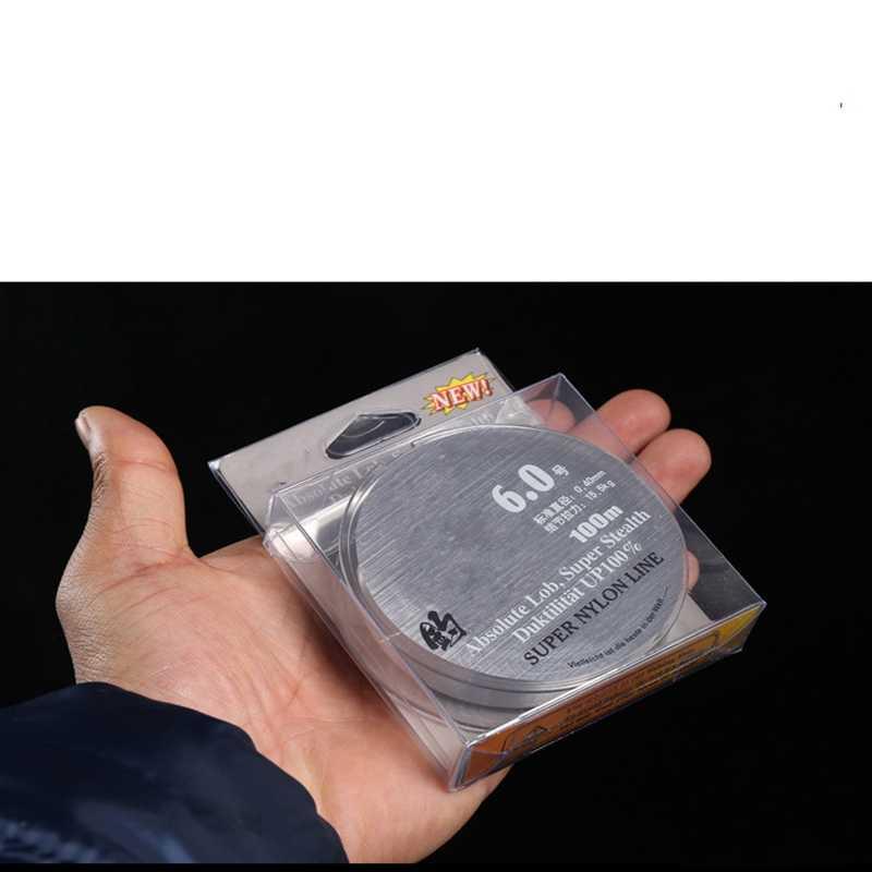דיג קו 0.20mm-0.60mm Fluorocarbon דיג קו 100m 10 KG-41 KG סיבי פחמן עבור קרפיון דיג