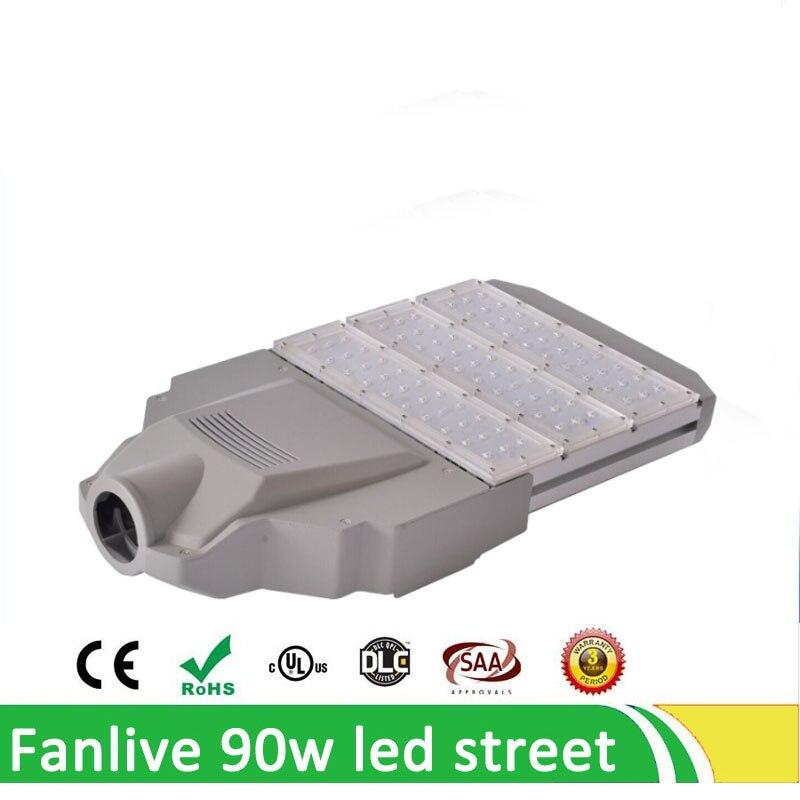 4 pcs/lot LED lampadaire 60 W/90 W/120 W/150 W/180 W éclairage extérieur pour chemins de jardin parc lampe lampadaires AC110V-240V