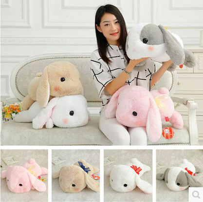 48CM High Quality Plush Long ears Rabbit Bunny Toy Kawaii Animal Soft Stuffed Doll Kids/Baby Children Birthday Gift 28inch giant bunny plush toy stuffed animal big rabbit doll gift for girls kids soft toy cute doll 70cm